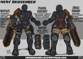 Heat Berserker (reloaded) by PierreRogers