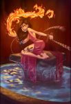 Rebellious Fire Priestess by Ravietta