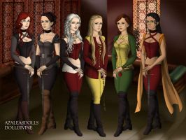 Warrior Ladies by BlackRoseOfSummer