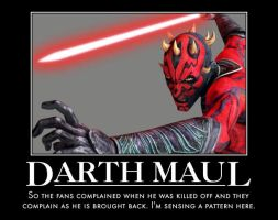 Darth Maul Returns by jswv