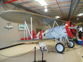 Boeing Biplane Fighter at Planes of Fame by rlkitterman