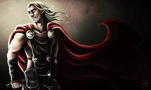 Thor the barbarian by undead-medic