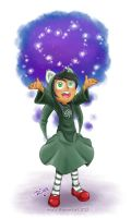 HS: Jade Harley the Little Witch of Space by rinacat