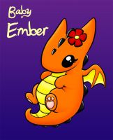 Baby Ember by DragonsAndBeasties