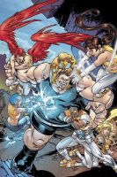 Blob Battles The New Mutants by Big-Ogre