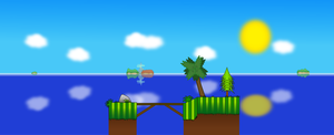 My First Level Concept Design by daiches99