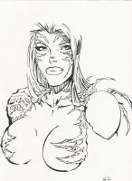 Witchblade by crappy3D