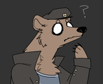 a rather perplexed bear by Wheatlley