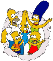 los simpsons png 2 by florchu1