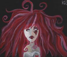 Emilie Autumn Painting by Hate-Lynn