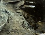 Water Over Rock by 6to9Nature