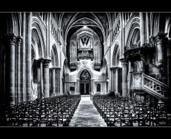 Cathedral of Lausanne IV by calimer00