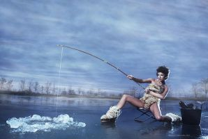 Ice Fishing by roadkill2k5