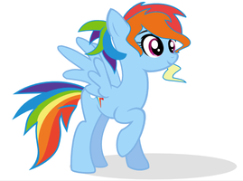 Rainbow Dash by selecteddash