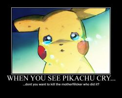 When you see Pikachu cry... by Fedorian-Class