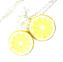 Lemon Necklace by KawaiiCulture