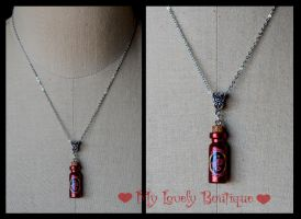 Tru Blood Bottle by TheLovelyBoutique