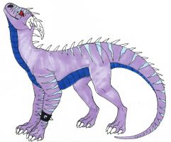 DT-Striped Dragon by Hippous
