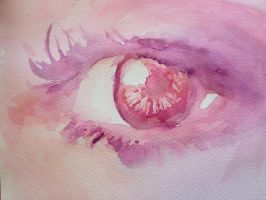 Watercolor Eye by Staccia