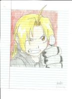Edward Elric by verypen