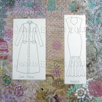 Flat Dictionary- Dresses 2 by Isilian