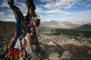 Leh by orographic