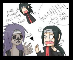 LOL i dun no its sasuke by LainaofthesandLOL