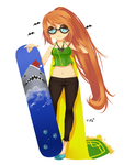 RS: Snowboard by Tifa-Amakura