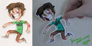 Tobuscus paperchild by loneyqua