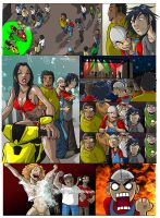 FIEBRUS COMIC 1, PAGE 1 COLOR by dovianax