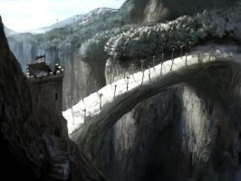 westwatch by the bridge by MarcSimonetti