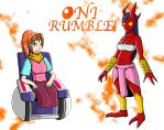 Oni Rumble! Redesigns 2 by Inudono19