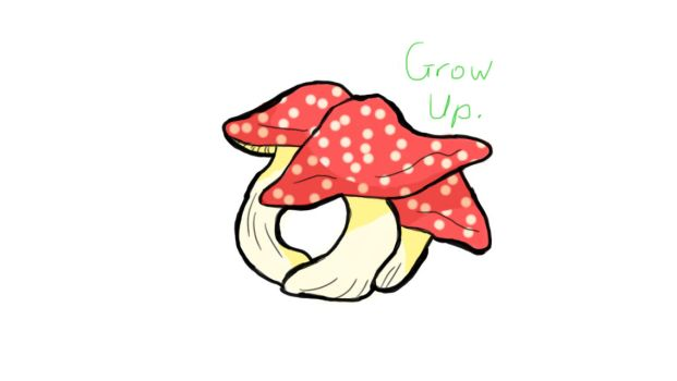 Grow up.  by ItalysCurl11