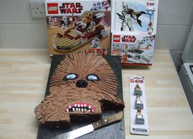 Chewbacca Birthday Cake by franklando