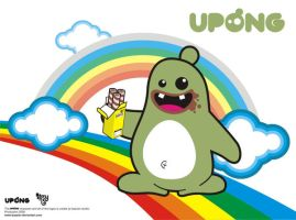 upong in rainbow by bazzier