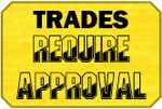 Approval Trades Badge by LevelInfinitum