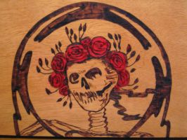 Cigar box - Grateful Dead by oleanderchardonai
