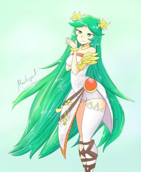 Just Palutena by MauLegend98