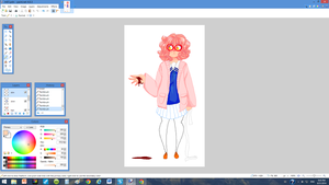 i havent posted much so heres a wip by leijonsprite