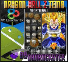 Vegeta Android Theme by Danrockster