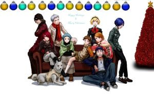Merry Christmas from Persona 3 by DarkMirrorEmo23
