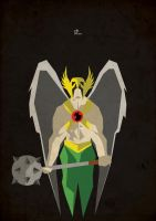 81. Hawkman by ColourOnly85