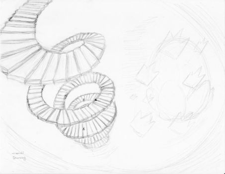 Namine's Stairs in Oblivion by x-De3pWaTer-x