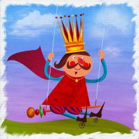 The King on the Swing by Christine-E