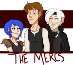 Commission: The Mercs by MoodyPug