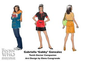 Titan Comics Doctor Who - Gabby, the new companion by elena-casagrande