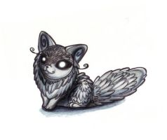 Arctic Fox UFO by CandyComet