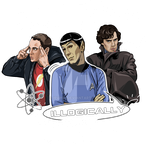 Kindred souls|Star Trek- TBBT- Sherlock BBC|Print by IrvinIS