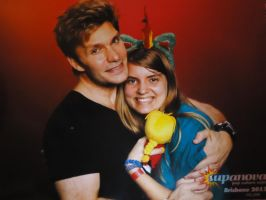Supanova Vic Mignogna by sarniewolf