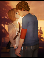 Life is strange - Max and Warren by Mary-O-o